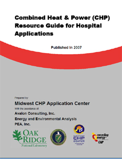 Cover Page of the CHP Resource Guide for Hospitals