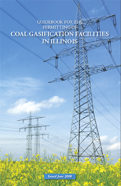 "Cover Page of the Guidebook for the Permitting of ""Coal Gasification Facilities in Illinois"""